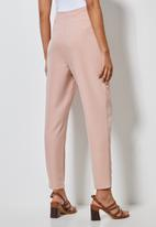 Superbalist - High waisted formal trousers - dusty pink