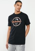 Quiksilver - Words remain short sleeve tee - black