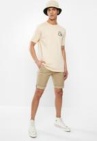 Quiksilver - Bubble logo short sleeve T-shirt - neutral
