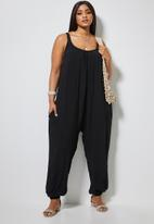Superbalist - Easy fitting jumpsuit - black