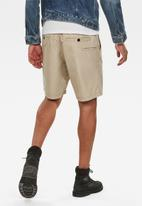 G-Star RAW - Front pocket sport shorts - khaki