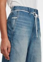G-Star RAW - Lintell high dad jeans - marine blue