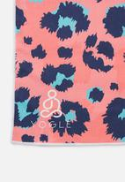 Yogle - Fornax non-slip yoga towel - leopard print