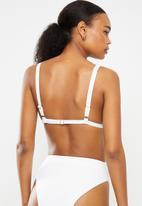 Bacon Bikinis - Sky bikini top - white