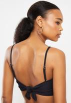 Bacon Bikinis - Tide bikini top - black