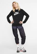 Nike - Nike sportswear essential hoodie - black