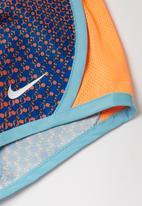Nike - Nkg Nike dry tempo short  - blue & orange