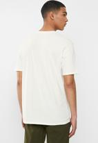 Hurley - Boxed short sleeve - pale ivory