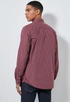 Superbalist - Barber regular fit long sleeve shirt - multi
