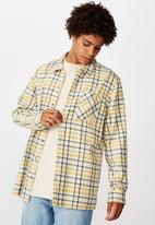Factorie - Flanno shirt - mustard midnight
