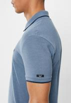 Lee  - Lee icon polo heather - navy