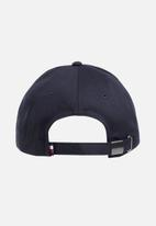 Tommy Hilfiger - Big flag cap - tommy navy