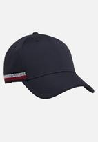 Tommy Hilfiger - Corporate selvedge cap - tommy navy