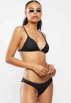 Bacon Bikinis - Nadia bikini top - black