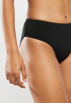 Bacon Bikinis - Casey bottom - black