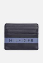 Tommy Hilfiger - Colour mix credit card holder - blue mix