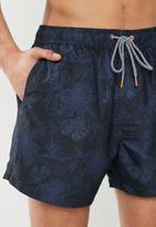 Brave Soul - Quinn swimshorts - navy & black