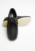Grasshoppers - Tint doebuck leather mocassin - black