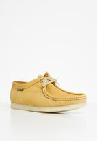 Grasshoppers - Tint doebuck leather mocassin - pineapple