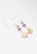 Superbalist - Iris multi-stone earrings - multi