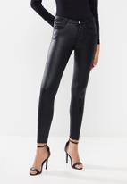 Sissy Boy - Jon jon sparkle stretch denim - black