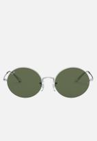 Ray-Ban - Ray-ban oval - green & silver
