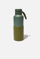 Typo - The loop metal drink bottle - green
