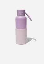 Typo - The loop metal drink bottle - purple