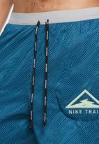 Nike - Flx stride 5-inch trail shorts - blue & grey