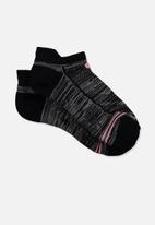 Cotton On - Running sock - black