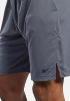 Reebok - Wor comm knit shorts - grey