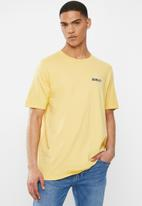 Hurley - Prm tree hugger short sleeve shirt - yellow