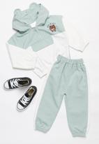 POP CANDY - Boys sweatset - grey & white