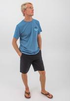 O'Neill - Valmera short sleeve tee - mid blue jaspe