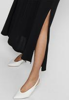 Jacqueline de Yong - Tianna maxi skirt denim - black