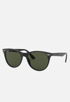 Ray-Ban - Wayfarer ii sunglasses 55mm - black & green