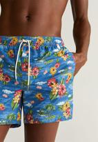 MANGO - Hawai swimming trunks - blue