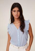 MANGO - Pauli shirt - blue