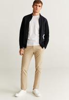 MANGO - Mayfair contrast fabricated Jacket