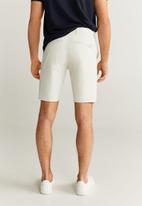 MANGO - Bermuda gracia shorts - grey