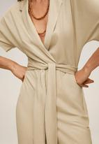 MANGO - Jumpsuit thalia - light beige