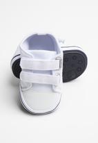 POP CANDY - Baby girl strap sneaker - white