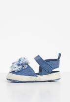 POP CANDY - Girls denim espadrille - blue
