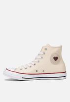 Converse - Converse denim love hi - peach