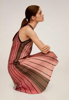 MANGO - Commeta dress - pink