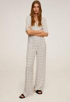 MANGO - One-piece suit luni - white