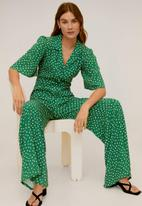 MANGO - One-piece suit luni - green