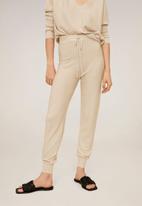 MANGO - Trousers milano - neutral