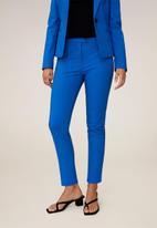 MANGO - Trousers cofi - blue