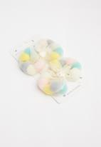 POP CANDY - 2 Pack girls hair clips - yellow